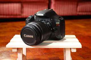 Canon X4 (550D) | 18mp with video recording