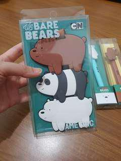 全新 正版授權 熊熊遇見你 三隻熊 行李吊牌