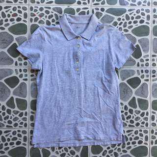 UNIQLO Gray Polo Shirt