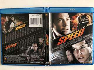 Speed and Speed 2 Blu Ray (dual action pack)