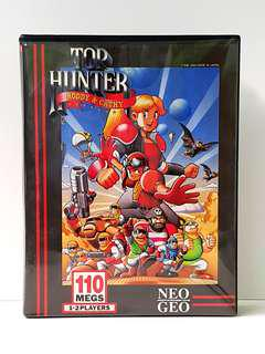 SNK NEO GEO AES  -  TOP HUNTER  (US Version)