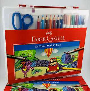 Arts Travel Kits by Faber-Castell