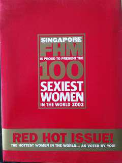 fhm. 2002. 100 red hot.