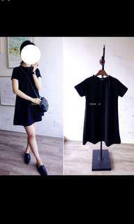 🚚 全新轉賣 黑色洋裝 文青氣質款#九月女裝半價
