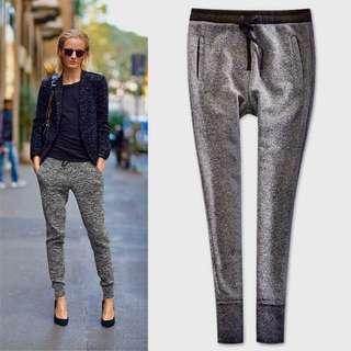 Bershka Gray Sweatpants