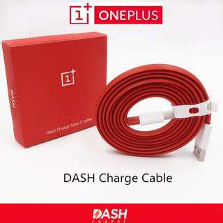 OnePlus 1m Dash Type C Flat Cable 3 3T 5 5T