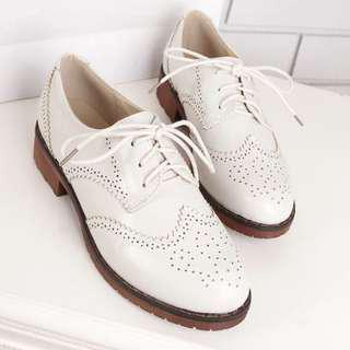 Ladies Lace Up Oxford Loafers