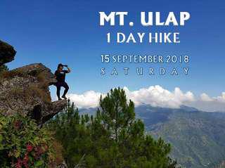 Mt. Ulap (1 Day Hike)