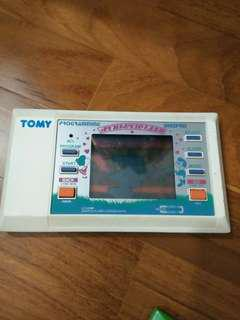 RARE AND VINTAGE! 80s Retro TOMY LCD Game Watch Programing DIGIPRO Athletic Land Handheld Game
