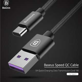 Baseus Type C cable for HUAWEI SuperCharge 5A MAX