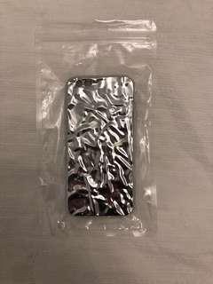 Silver Foil iPhone Case