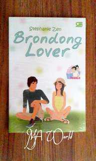 Novel Brondong Lover - Stephanie Zen