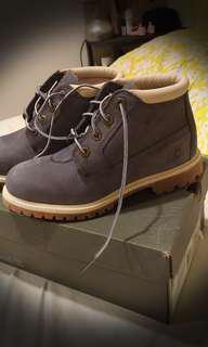 🚚 Timberland 灰色 短筒靴 9.5成新