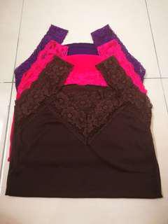 Lace Tops (3Pcs)