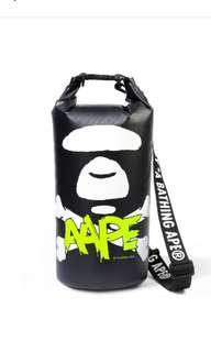 AAPE by A Bathing Ape BAPE waterproof bag