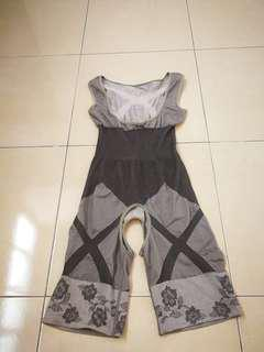 Charcoal Slimming Suit
