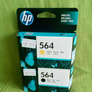 HP ink Cartridge 564 Black and Yellow One set