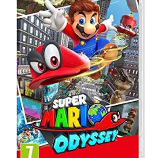 🚚 Nintendo switch : Mario odyssey