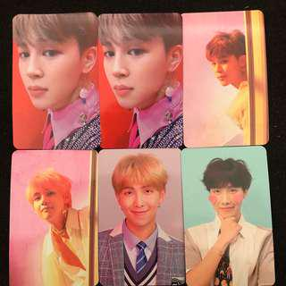 WTS BTS LOVE YOURSELF ANSWER PHOTOCARDS