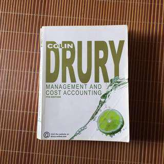 Colin Drury : Management and Cost Accounting