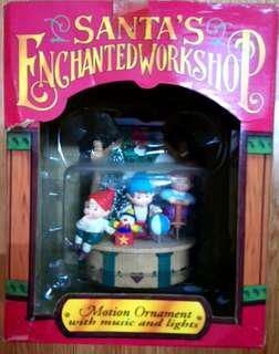 全新1995聖誕音樂盒兩款