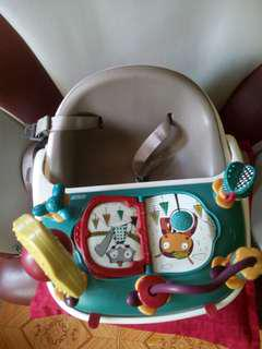 Mamas and Papas Baby Bud (Booster Seat) with activity tray