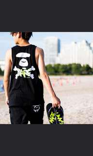 AAPE by A Bathing Ape BAPE singlet