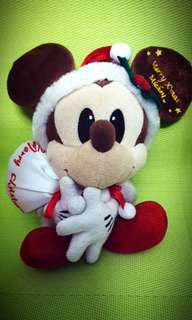 #TOYS50 Mickey Mouse Doll in Santa Claus Outfit