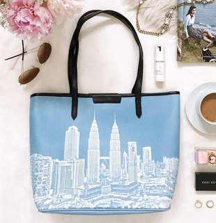 Duck KL tote bag