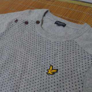 🚚 LYLE&SCOTT 羊毛針織毛衣 XL碼