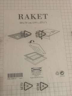 Ikea raket frame
