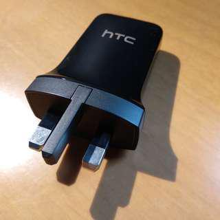 HTC 正版3腳USB充電器