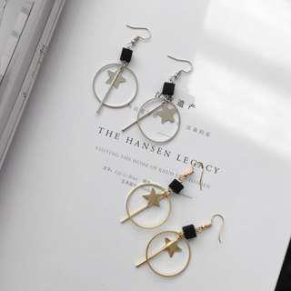 star dangling earring #under9