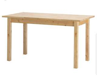 Fixed price - Ikea Table (solid wood)