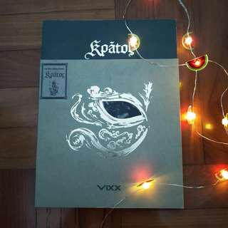 VIXX Kratos Album with Hyuk PC