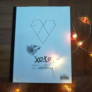 EXO Xoxo Album with Chen PC