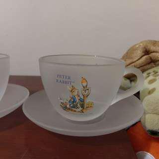 🚚 半透明下午茶杯 杯子