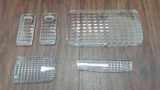 Toyota hiace crystal clear cabin lamp cover