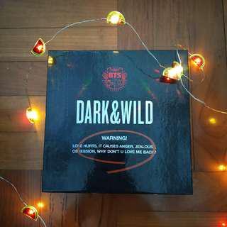 BTS Dark&Wild Album with Rapmon PC