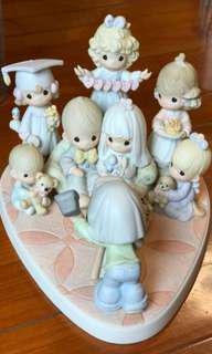 Precious Moments Figurine - A Portrait of Loving, Caring and Sharing