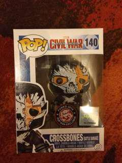 Funko Pop Crossbones vinyl figurine