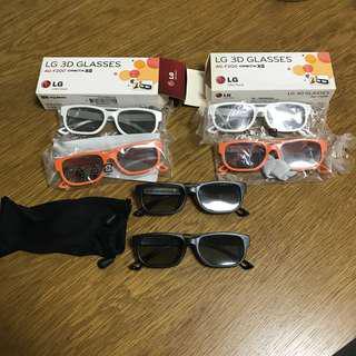 LG 3D glasses