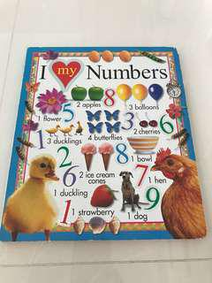 Preloved I Love My Numbers Book