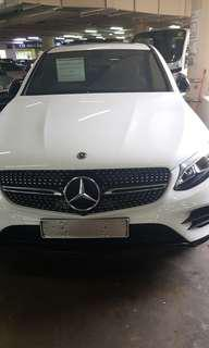 Glc 250 coupe amg line  4matic