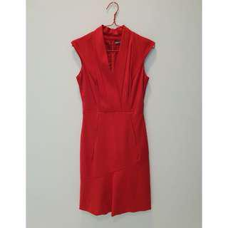 Anne Klein Red dress