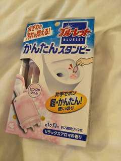 🚚 日本限定小林製藥馬桶芳香凍,粉色
