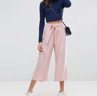 instock!!!! dusty pink culottes