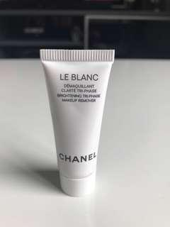 Chanel Le Blanc makeup remover 5ml