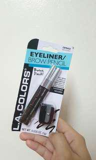 L.A colors eyeliner and brow pencil