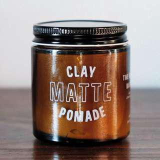 The Mailroom Barber Co Matte Clay Pomade Trail Tin